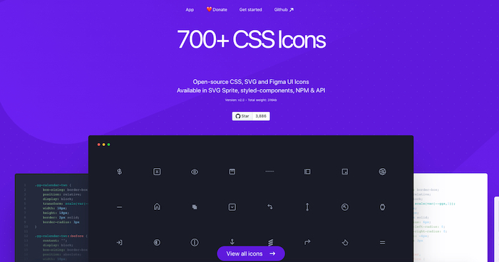 CSS.gg Free CSS Icon Library