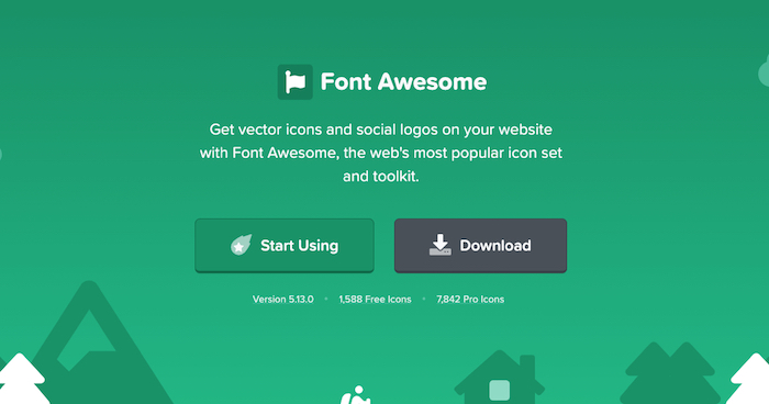 Font Awesome Free Icon Library