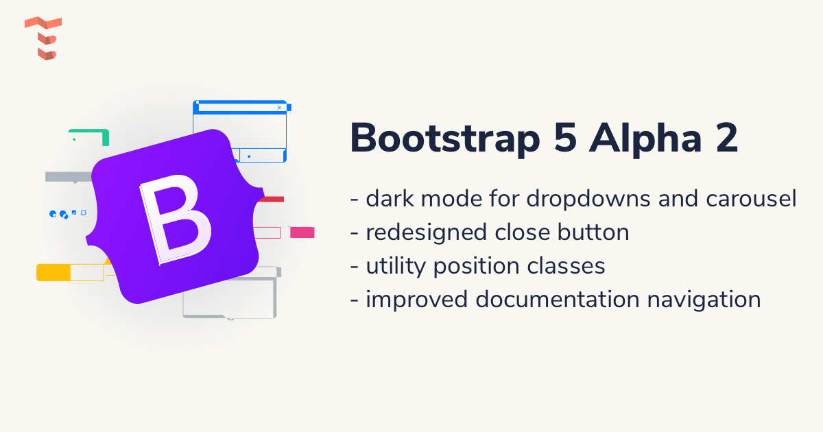 Bootstrap 5 Alpha 2 changes
