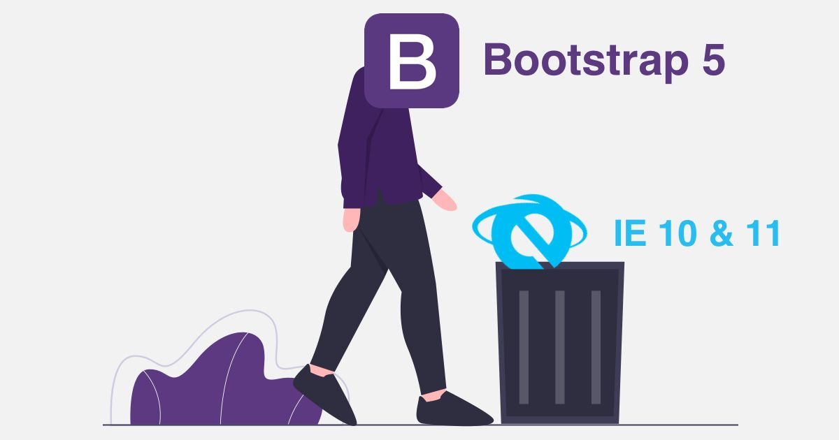 bootstrap 5 internet explorer browser support