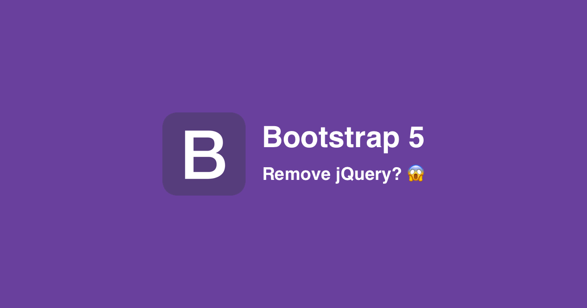 Bootstrap 5 Release Date