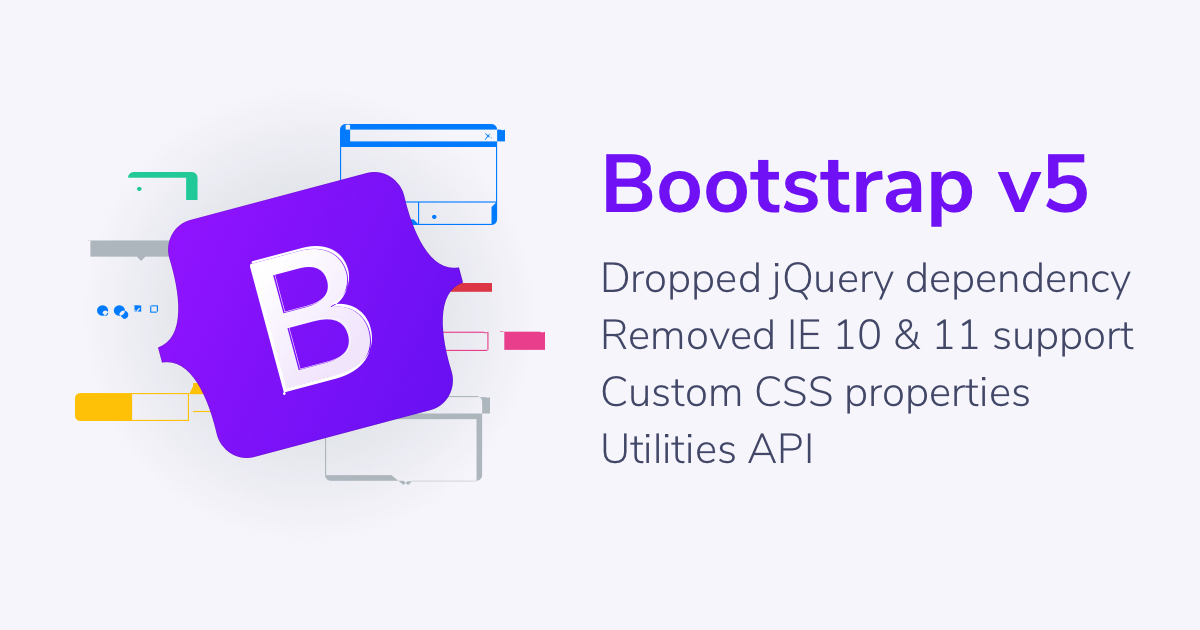 Bootstrap 5 alpha launch
