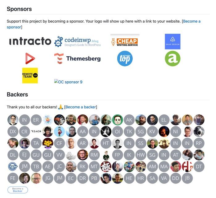Themesberg sponsoring Bootstrap
