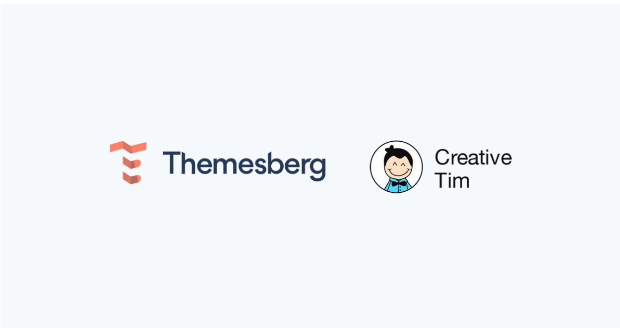 Themesberg and Creative Tim logos