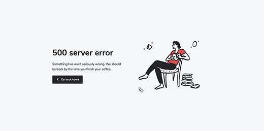 500 Server Error preview