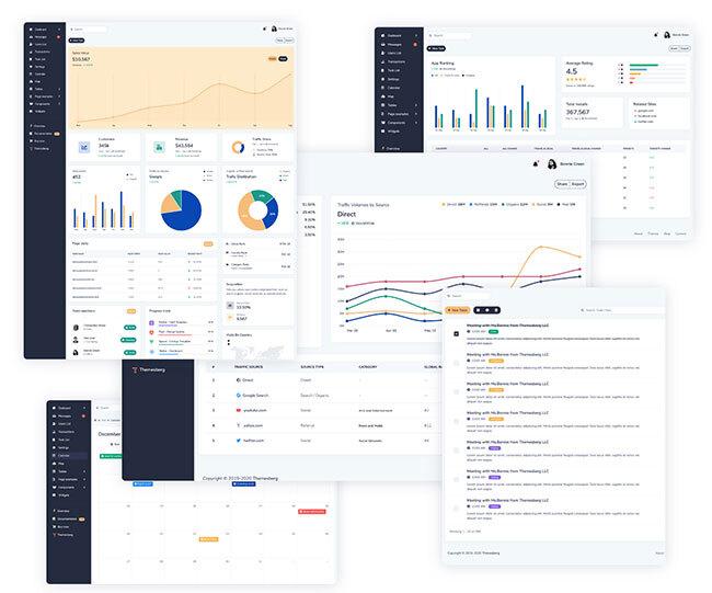 Volt Pro - Premium Bootstrap 5 Dashboard Preview