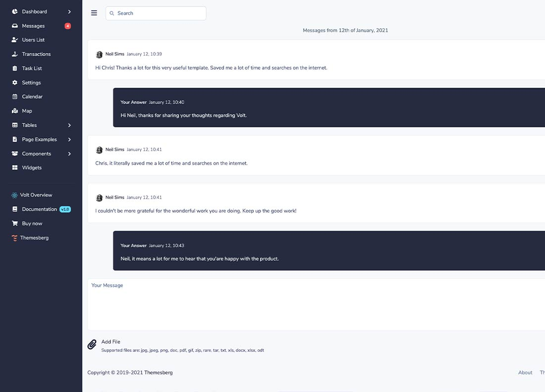 Chatroom preview